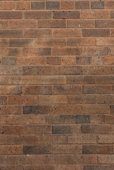 Bruine bakstenen muurachtergrond