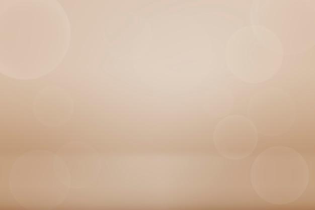 Bruine bokeh getextureerde effen productachtergrond