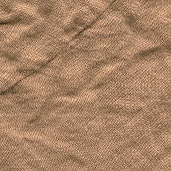 Bruine canvas achtergrondstructuur