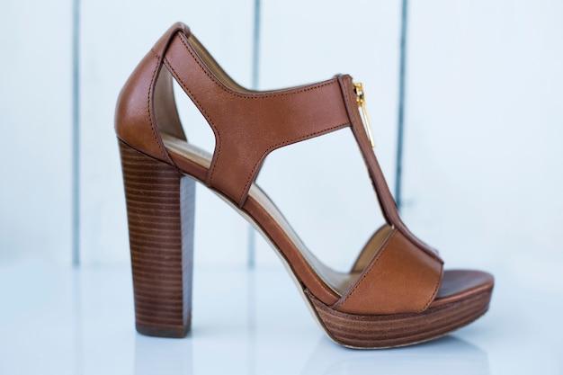 Bruine damesschoenen