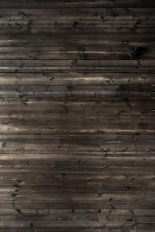 Bruine gebrande van de kleuren houten muur textuur als achtergrond.