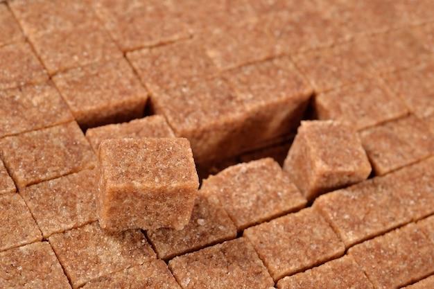 Bruine geraffineerde suiker