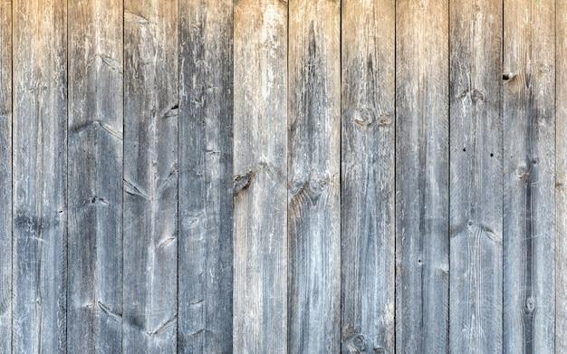 Bruine grijze oude houten de muur geweven achtergrond van de plankraad. oppervlakte van de grunge de houten materiële textuur.