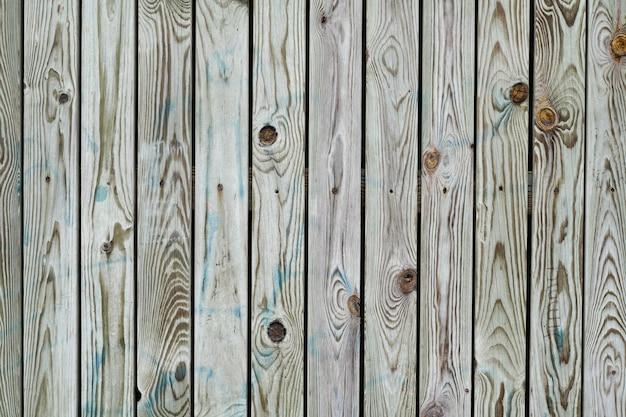 Bruine groene houten patroon houten textuur voor achtergrond