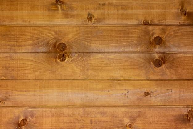 Bruine houten de textuurachtergrond van de plankenmuur.