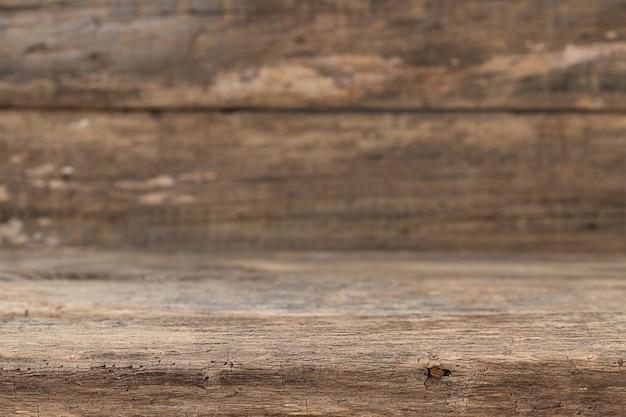 Bruine houten gestructureerde oude achtergrond, kan worden gebruikt voor het plaatsen van uw product