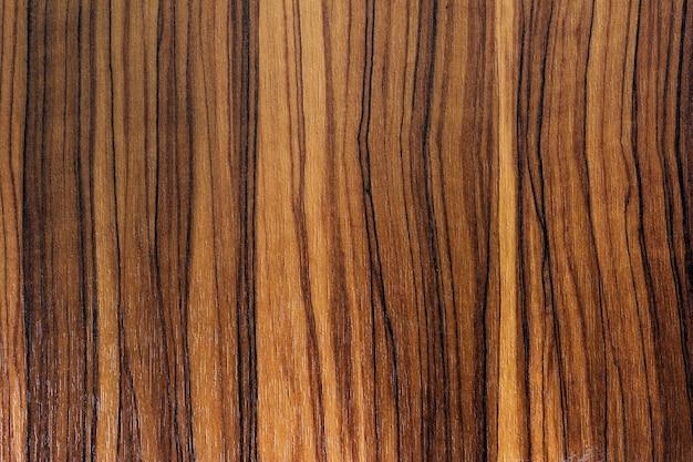 Bruine houten geweven planken