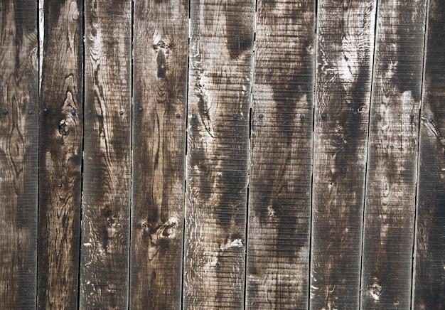 Bruine houtstructuur met natuurlijke patronen
