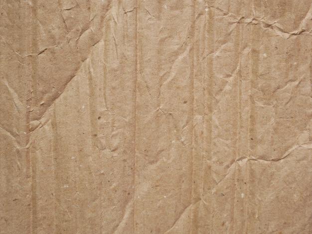 Bruine kartondocument textuur