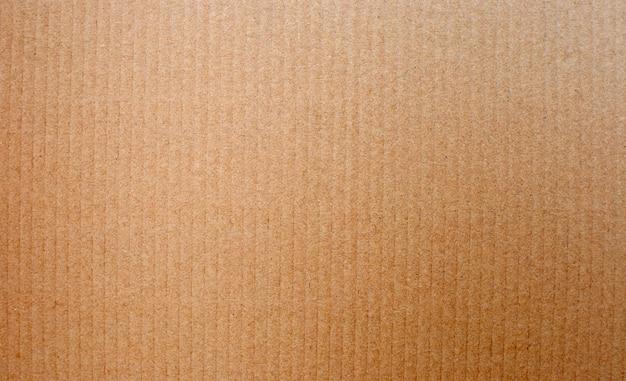 Bruine kartonnen textuur voor achtergrond.