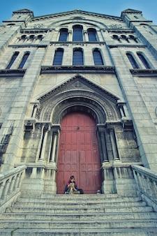 Bruine kathedraal