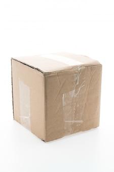 Bruine papieren doos
