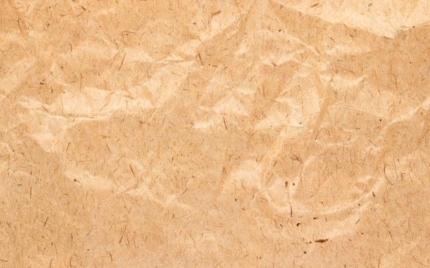 Bruine rimpel kringloopdocument achtergrond