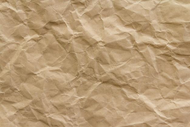 Bruine rimpel kringlooppapier achtergrond