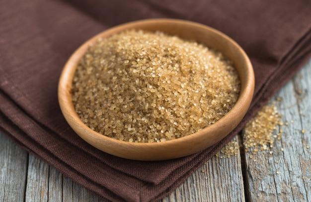 Bruine suiker uit suikerriet