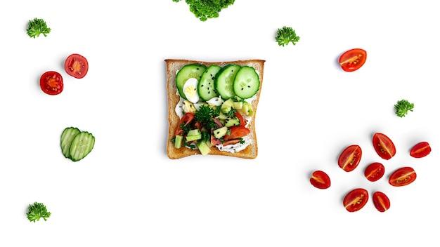 Bruschetta met groenten