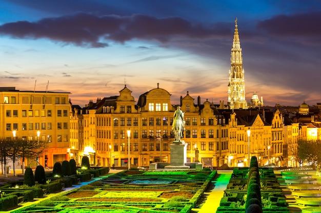 Brussels cityscape belgië