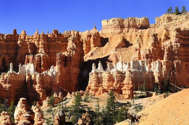 Bryce canyon-landschap