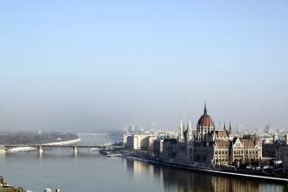 Budapest het parlement, boedapest