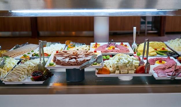 Buffetrestaurant, het restaurant van het hotel