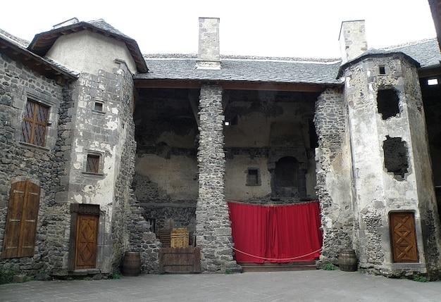 Building chateau architectuur oud hemel frankrijk