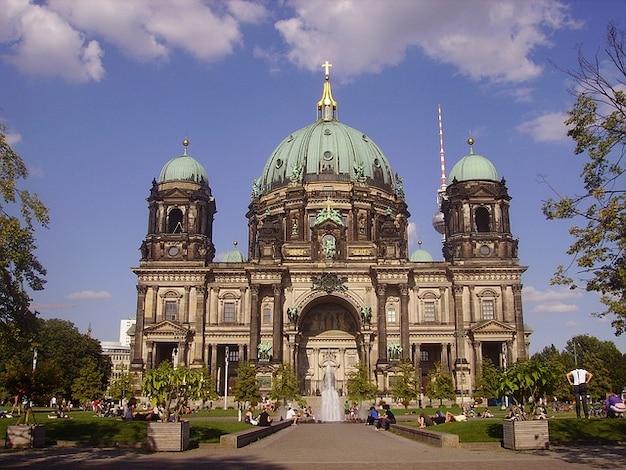 Building duitsland kerk berlin structuur