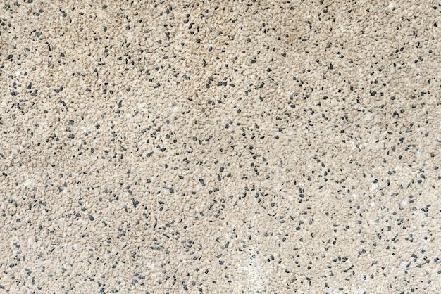 Buiten betonnen en stenen vloer