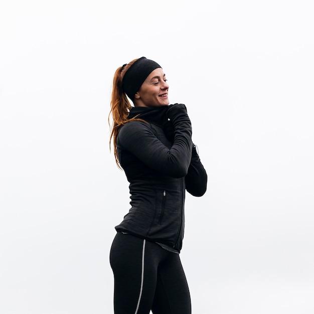 Buiten hardlopen bij daglicht