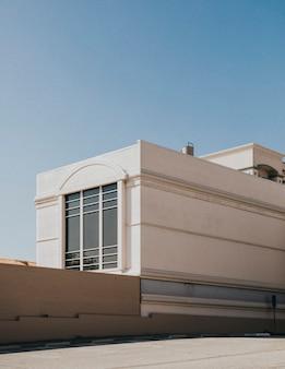 Buitenkant van een gebouw in los angeles, californië