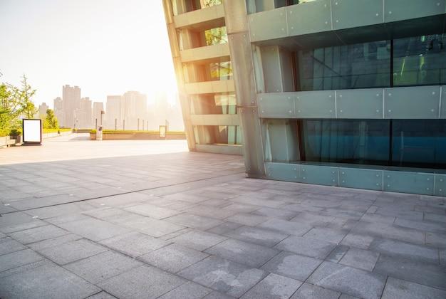 Buitenkant van moderne gebouwen
