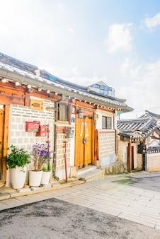 Bukchon hanok dorp