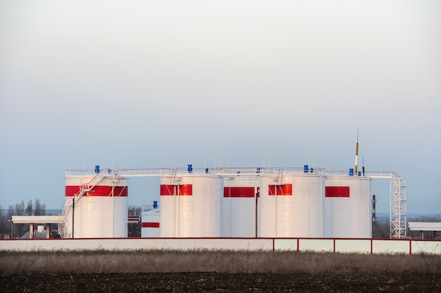 Bulk olietanks