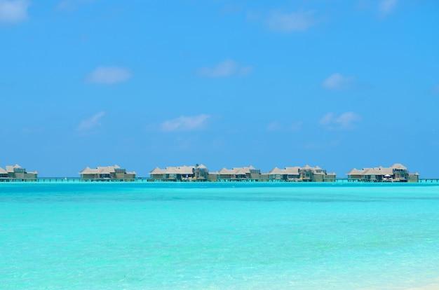 Bungalows resort in de malediven