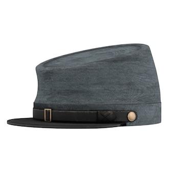 Burgeroorlog confederate cavalry hat