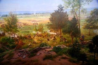 Burgeroorlog schilderij