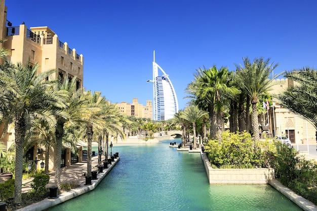 Burj al arab en madina jumeirah