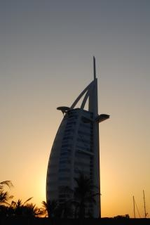 Burj al arab, het hotel