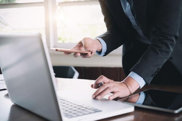 Business analyse planning en oplossing objectief strategie concept.
