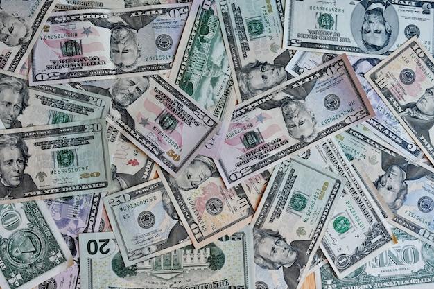Business, financiën, investeringen, sparen en corruptie concept