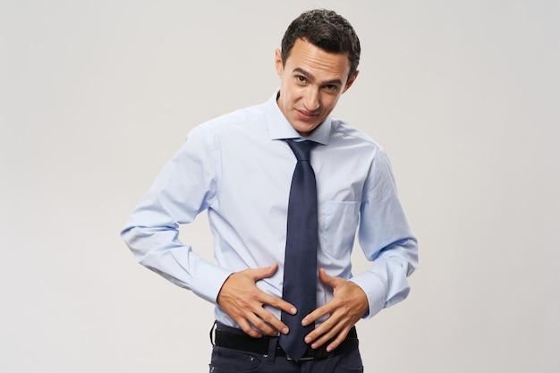 Business man overhemd stropdas kantoor ambtenaar professional