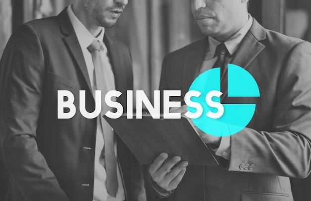 Business process goals target succes grafiek