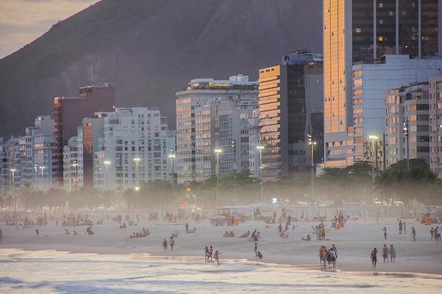 Buurt van copacabana in rio de janeiro