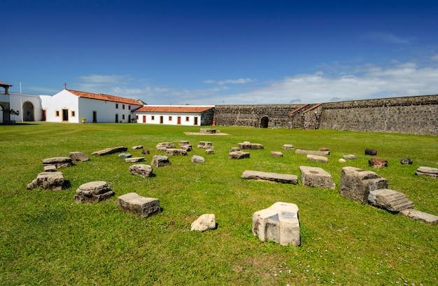 Cabedelo, naast joao pessoa, paraiba, brazilië op 11 mei 2005. fort van santa catarina.