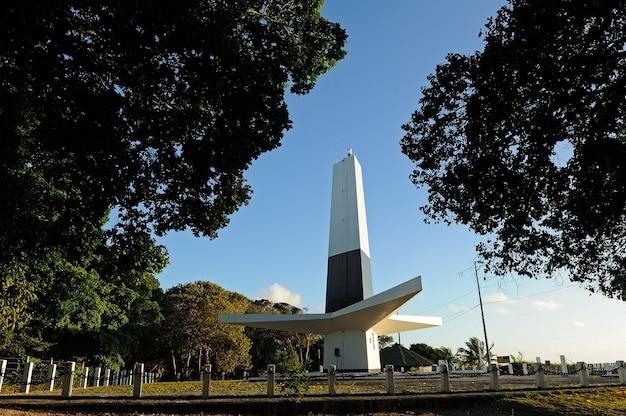 Cabo branco vuurtoren joao pessoa paraiba brazil op 23 augustus 2012