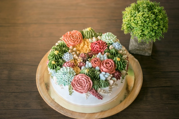 Cactus cake in de viering