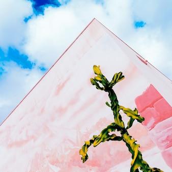 Cactusontwerp. mijn kleurrijke leven. hedendaagse kunst