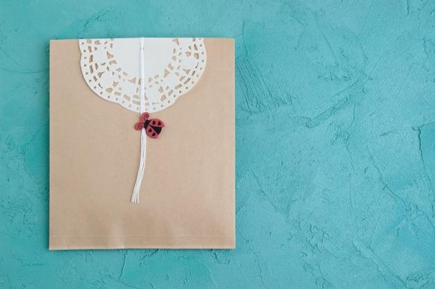 Cadeau kraft envelop