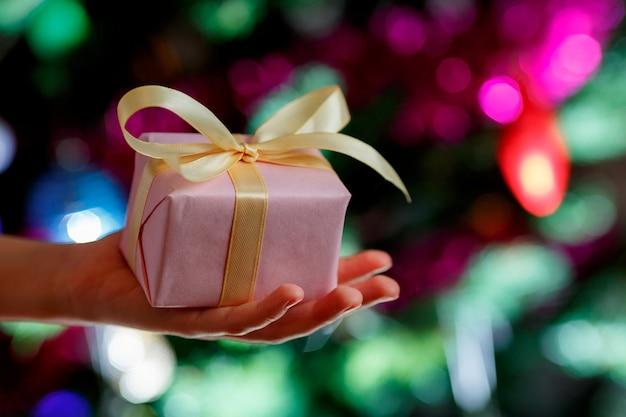 Cadeau voor kerstmis of nieuwjaar