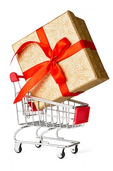 Cadeau winkelen concept