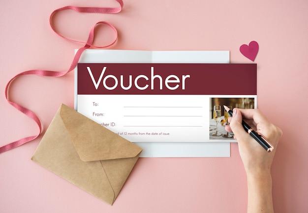 Cadeaubon coupon korting speciale aanbieding